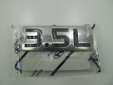 Lift Gate Engine Size 3.5L Badge Emblem OEM For 2003-06 Santa Fe 86330-26100