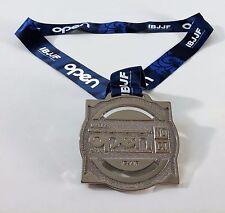 2015 Dallas Tx Open Ibjjf Jiu-Jitsu Championship Silver Medal Trophy No Gi Award