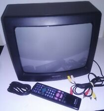 "Sharp 13N-M100B 13"" CRT Tube Television Vintage Gaming"