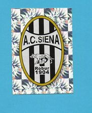PANINI CALCIATORI 2009-2010-Figurina n.433- SCUDETTO/BADGE -SIENA-NEW