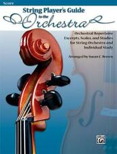String Players' Guide to the Orchestra String Orchestra MUSIC BOOK SCORE ONLY