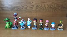 Lot of 9 Disney Jake and the Neverland Pirates Cake Toppers PVC Figures Toy