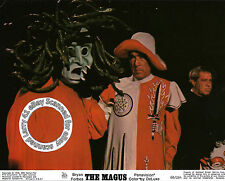 Anthony QUINN and Medusa character in costume still THE MAGUS (1968) black magic