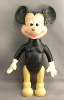 Walt Disney Old Vintage Mickey Mouse Plastic Figure