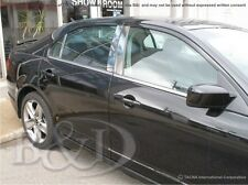 FORD FUSION CHROME PILLAR POSTS 2010-2012  6PCS
