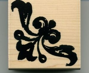 """Wood-mounted rubber stamp """"Bold & Brassy""""BN"""