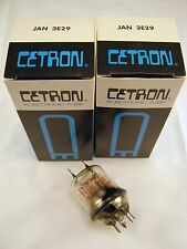 New Old Stock Pair Cetron JAN 3E29 Transmitting Tube ON SALE!!!