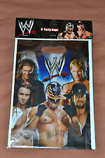NEW ~WWE WRESTLING~  8-PLASTIC LOOT BAGS   PARTY SUPPLIES