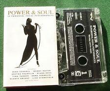 Power & Soul Dina Carroll Wendy Moten Erma Franklin + Cassette Tape - TESTED