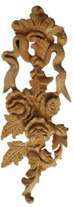 Regency Interior Wooden Wall Decor, Hand Carved Showpiece Feature in Pine, PG963