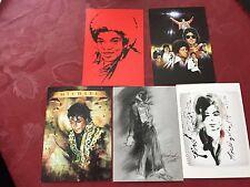Rare  5 Michael Jackson Giorgio Nate Opus 7x 5 Inches Prints Set 1