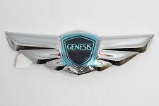 2012 2013 HYUNDAI GENESIS GENUINE EMBLEM WING REAR TRUNK TAIL SEDAN 3.8 V6 OEM