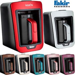 Fakir Mokkamaschine Luminasense One-Touch Mokka Kocher Kaffee Maschine Automat