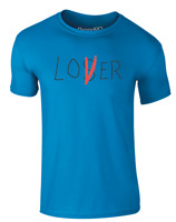 Lover Not A Loser Funny Slogan Printed Adults T-Shirt Mens Womens Casual Tee