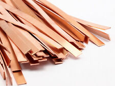 5 Raw Copper Bracelet Stamping Blanks, Bangles (6x145x0.80mm) D437