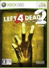 Usé Xbox 360 Gauche 4 Dead 2 09746 Japon Import