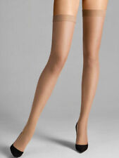 Wolford Individual 10 Stay-Up - Medium - Gobi