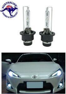 2X D4S 6000K Xenon HID Headlight Bulb Lexus IS GS 250 Toyota 86 Subaru Brz Mazda