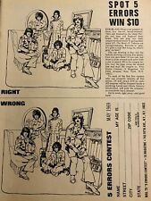 Deep Purple, Full Page Vintage Clipping