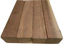 4 Pack Set,  BLACK WALNUT Lumber Board, Turning Wood    2