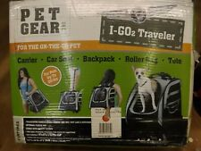 NEW Pet Gear Copper I-Go2 Traveler Small Pet Carrier Backpack Roller Bag Tote