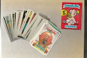 1987 Topps Garbage Pail Kids Series 11 Complete Diecut Set RARE MINT!