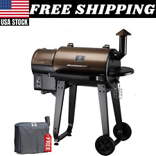 Z Grills Zpg-450a Wood Pellet Grill BBQ Smoker Digital Control With Cover
