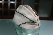 US WW2 Army Officer's Pinks Overseas Garrison Cap Hat Tailor Made Lt Col Sz 7 53