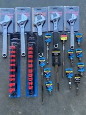 Lot Buy Tuff Stuff and Channellock Tools (5 Adjustable Wrenches & 3/8 Drive)
