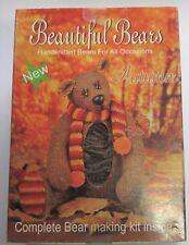 AUTUMN the Beautiful Bear Toy Knitting Kit