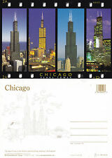 1990's SEARS TOWER CHICAGO ILLINOIS UNITED STATES UNUSED COLOUR POSTCARD