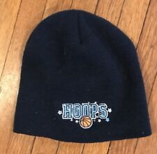 GIRLS Winter HAT Basketball Hoops SPARKLE Navy BLUE LIMITED TOO