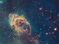 SPACE STARS NEBULA GALAXY UNIVERSE COSMOS POSTER ART PRINT LV11134