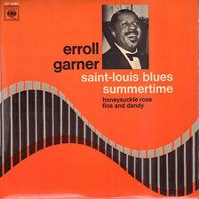"ERROLL GARNER – Saint-Louis Blues / Summertime (VINYL JAZZ EP 7"" FRANCE)"
