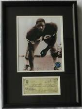 Roosevelt 'Rosie' Brown Signed Autographed Framed Check w/ 8x10 Photo PSA/DNA