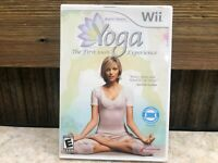 Yoga (Nintendo Wii, 2009) Complete TESTED FREE SHIPPING