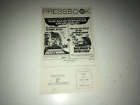 FRANKENSTEIN CREATED WOMAN Movie Pressbook Hammer Horror MUMMY'S SHROUD Cushing