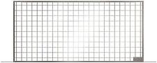 ACO Lichtschacht Maschenrost 30/30 begehbar 100x40 Cm