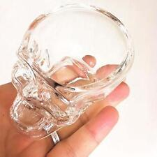 Crystal Glass Vodka Whiskey Skull Head Shot Cup Drinking Ware Home & Bar 73ml y0