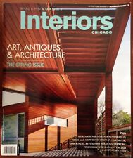 Interiors Chicago Modern Luxury Art & Architecture Spring 2014 FREE SHIPPING!