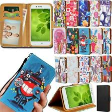 Flip Leather Smart Stand Wallet Cover Case For Various Huawei P 8 9 10 20 Phones