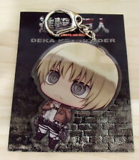 Attack on Titan Shingeki no Kyojin Armin Arlert Acrylic Big Keychain Key Holder