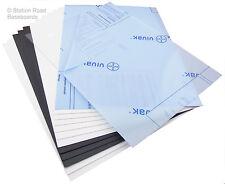 Plasticard 13 Large Sheets Starter Pack, Mixed Assorted Plastic  Styrene HIPS