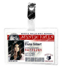 The Vampire Diaries Elena Gilbert ID Badge Mystic Cosplay Prop Costume Comic Con
