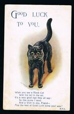 WAIN, Louis - Good Luck to You Cat Postcard #9798