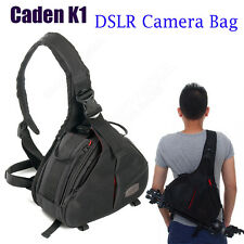Caden K1 Casual Waterproof DSLR Camera Bag Case Fr Canon Nikon Crossbody Fashion
