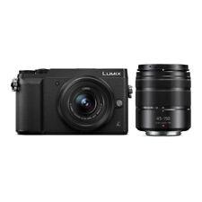 Panasonic Lumix GX85 Mirrorless Camera with 12-32mm and 45-150mm Lenses (Black)