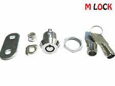 "5/8"" Tubular Cam Lock;  replacement lock, 1 key pull, 90 degree turn; 2400BS"