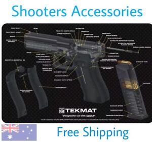 Glock 17 Gen4 Tekmat, Cleaning Mat, Pistol Cleaning, Rifle, Shotgun Ipsc Sa#87