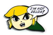 I'M NOT ZELDA ENAMEL PIN BY YESTERDAYS CO.